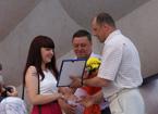 Вручение премии Главы Администрации ЗАТО Северск «Молодость – Северску»