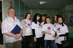 Участие в областном слете волонтеров образовательных учреждений среднего и начального профессионального образования Томской области