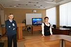 Встреча студентов с начальником отдела аналитического контроля Комитета охраны окружающей среды