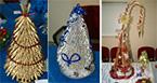 Мастер-класс «Изготовление новогодней сувенирной елочки»