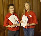 Работа волонтеров на Региональном чемпионате рабочих профессий WorldSkills Russia