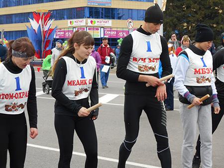 Городская легкоатлетическая эстафета