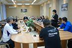 Встреча с участниками WorldSkills Hi-Tech