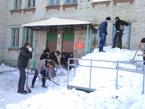 Акция «Снежный десант»
