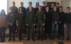 Встреча с курсантами Новосибирского военного института
